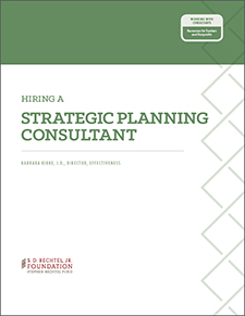 Hiring a Strategic Planning Consultant