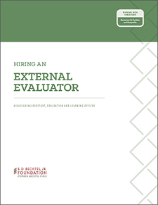 Hiring an External Evaluator